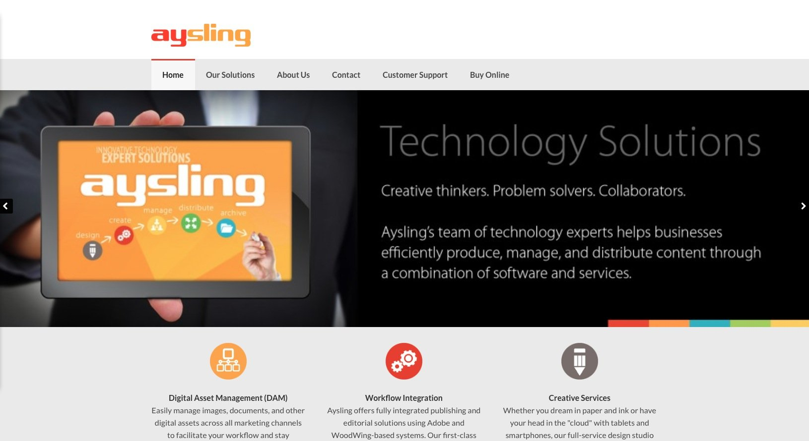 Aysling Website