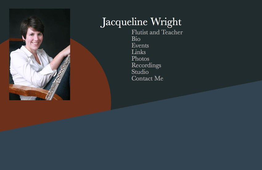 Jackie Wright Website